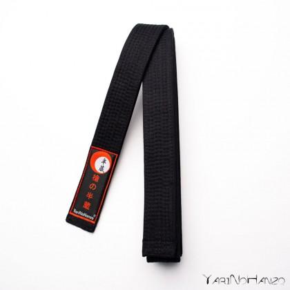 Ceinture pour karaté et judo NOIR   Karaté judo obi